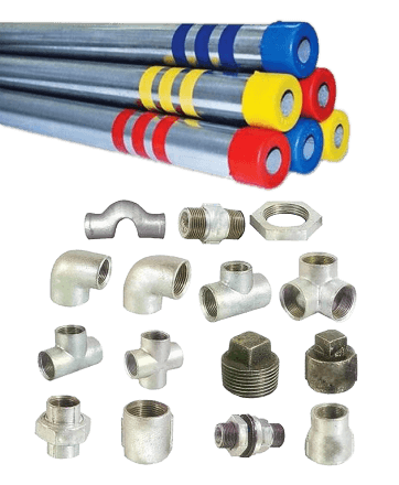 GI _ MS Pipes _ Fittings